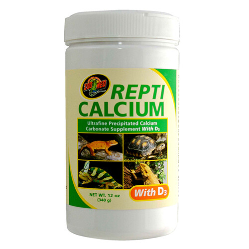 Zoo Med ReptiCalcium With D3 (12 oz)