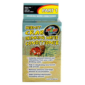 Zoo Med Hermit Crab Drinking Water Conditioner (2.25 oz)