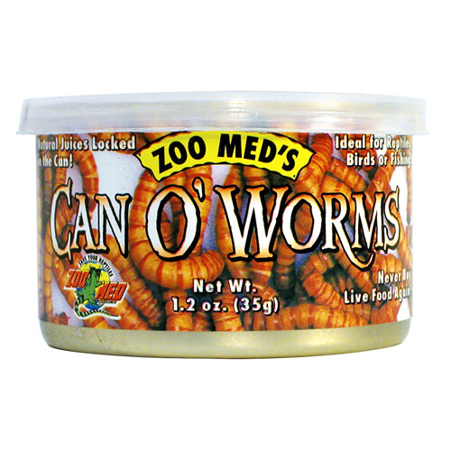 Zoo Med Can O' Worms (1.2 oz)