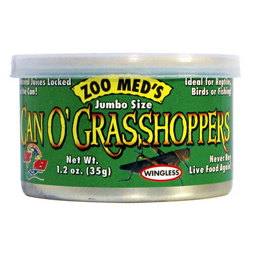 Zoo Med Can O' Grasshoppers (1.2 oz)