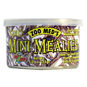 Zoo Med Can O' Mini Mealies (1.2 oz)