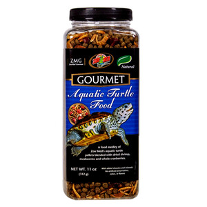 Zoo Med Gourmet Aquatic Turtle Food (11 oz)