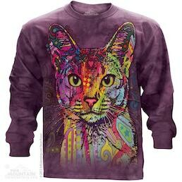 Adult Unisex Long Sleeve T-Shirts Cat Collection