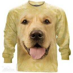 Adult Unisex Long Sleeve T-Shirts Dog Collection