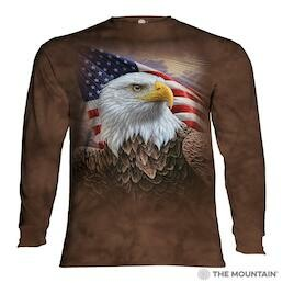 Adult Unisex Long Sleeve T-Shirts Americana Collection